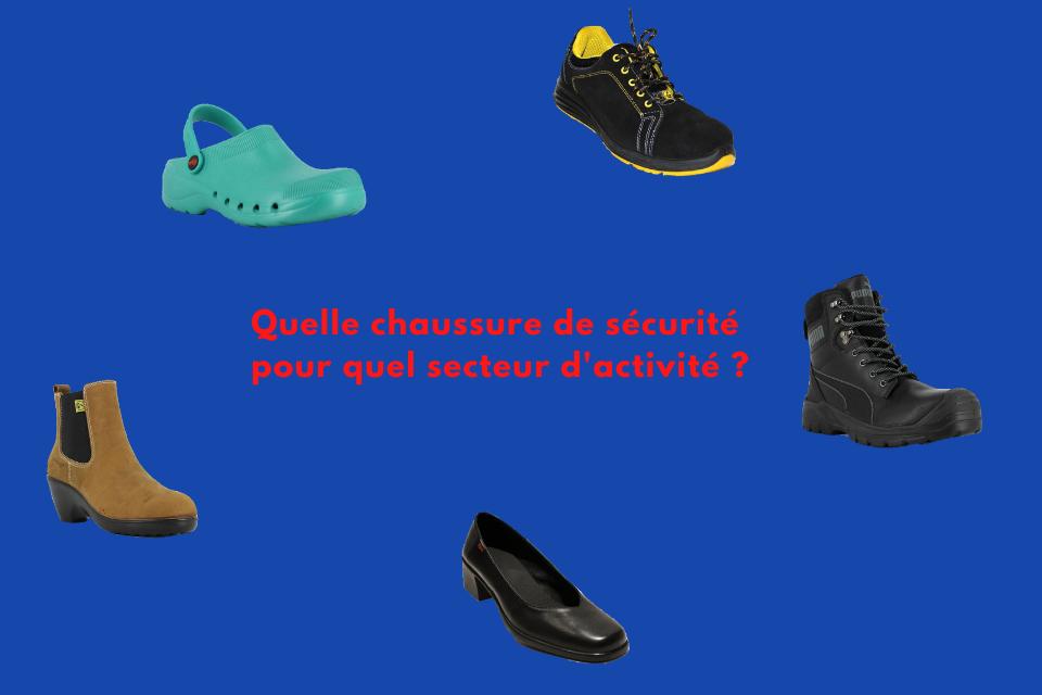 Quelles chaussures de sécurité pour quel secteur d'activité